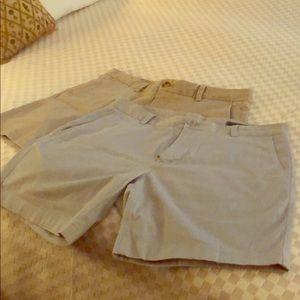 "Two pairs of Vineyard Vines men's shorts 7"""